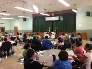 Kate Lincoln-Goldfinch Answers Questions at Citizenship Forum