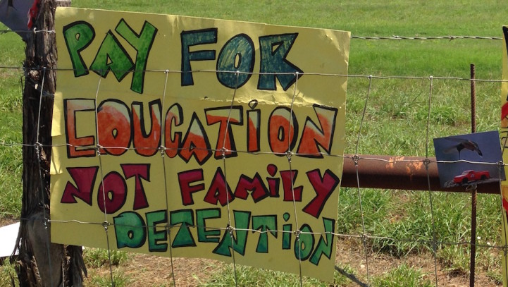 End mass incarceration of refugees in Texas
