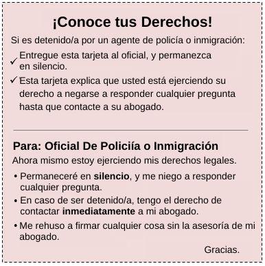 Abogado De Inmigracion Redadas Del ICE