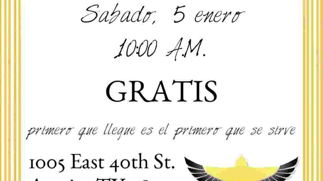 Clinica de Inmigración GRATIS! Sabado 5 de enero