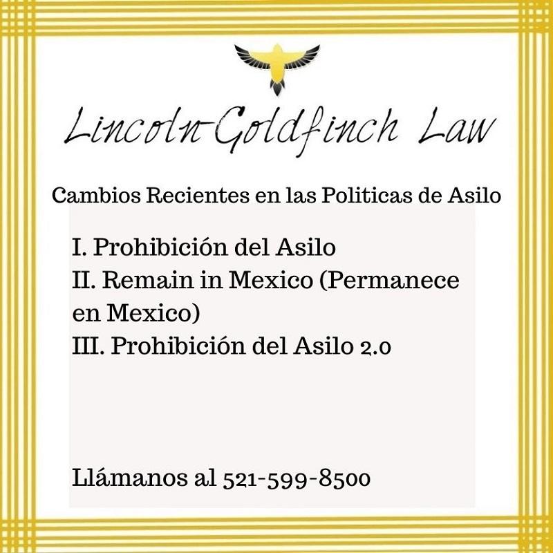 Politica De Asilo Abogados De Inmigracion Austin