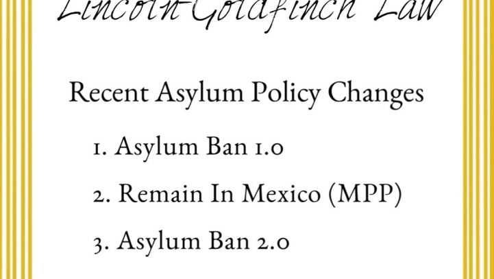 Recent Asylum Policy Changes Explained