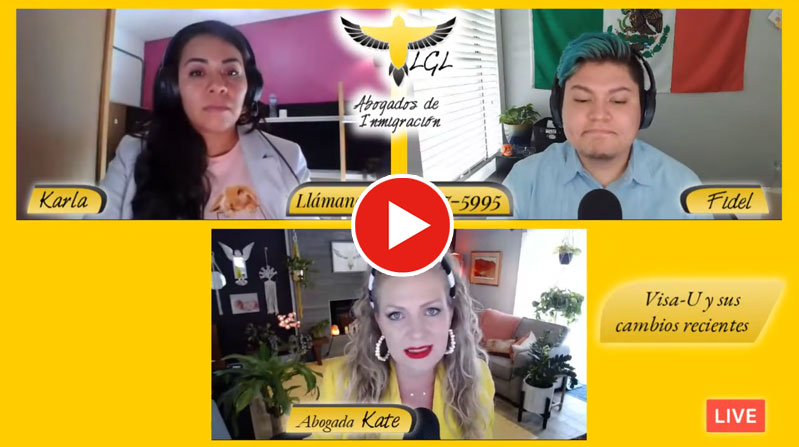 Visa U Facebook Live Abogados De Inmigración Austin
